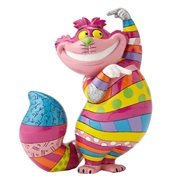 Disney Alice in Wonderland Cheshire Cat Statue by Romero Britto