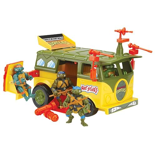 Teenage Mutant Ninja Turtles Original Party Van Vehicle