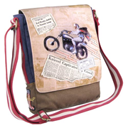 Evel Knievel Legacy Canvas Messenger Bag