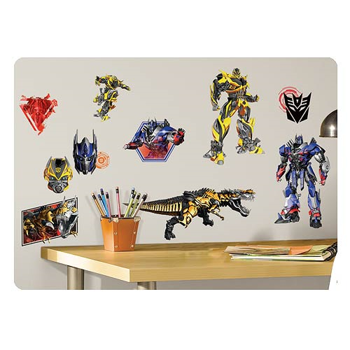 Transformers Age of Extinction Peel and Stick Wall Decals