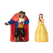 Beauty and the Beast Belle and Beast Salt and Pepper Shaker Set