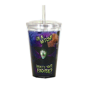 Wizard of Oz I'm a Witch Travel Cup with Straw