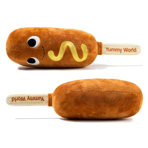 Yummy World Cornelius Corn Dog Medium Plush