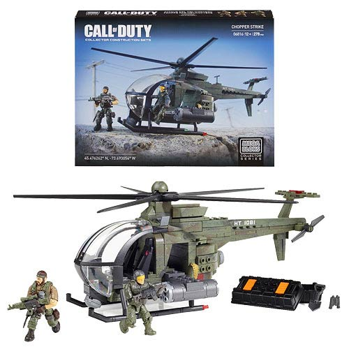 Mega Bloks Call of Duty Chopper Strike Playset