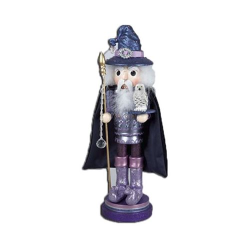 Hollywood Wizard 18-Inch Wooden Nutcracker