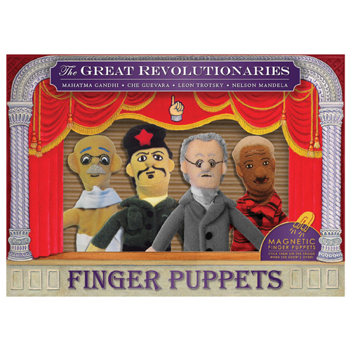 Famous Revolutionaries Plush Puppet Magnet Set