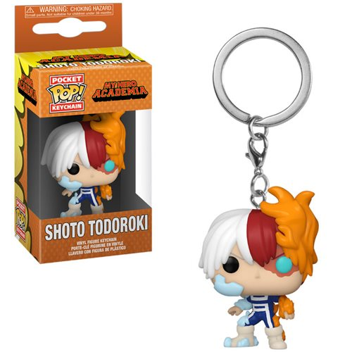 My Hero Academia Todoroki Pocket Pop! Key Chain