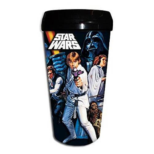 Star Wars A New Hope 16 oz. Plastic Travel Mug