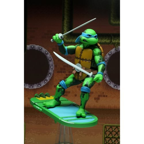 Teenage Mutant Ninja Turtles Turtles in Time Leonardo Series 1 Action Figure