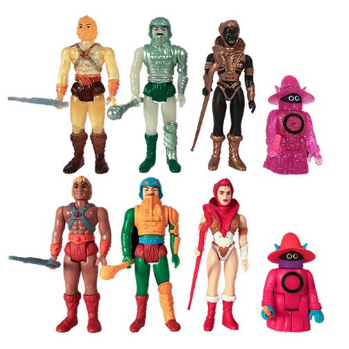 Masters of the Universe Blind Box Castle Grayskull ReAction Figures Box of 12
