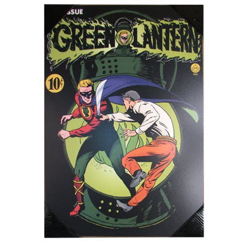 Green Lantern #1 Comic Cover Wood Wall Art