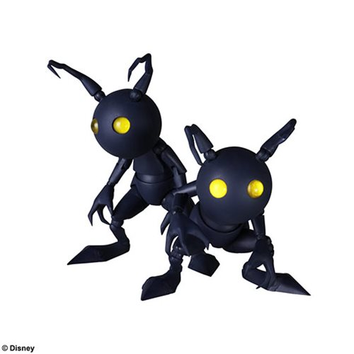 Kingdom Hearts III Shadow 2-Pack Bring Arts Action Figure Set