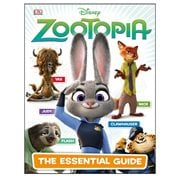 Disney Zootopia The Essential Guide Hardcover Book