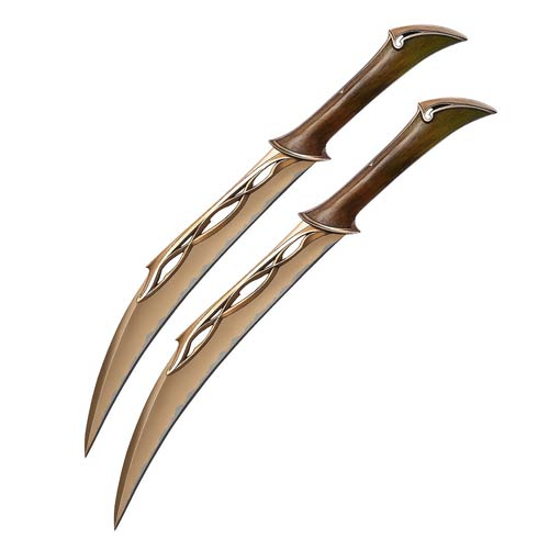 The Hobbit Fighting Knives of Tauriel Prop Replica