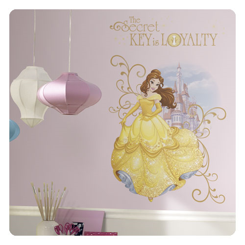 Beauty and the Beast Belle Disney Princess Peel and Stick Giant Wall Graphic