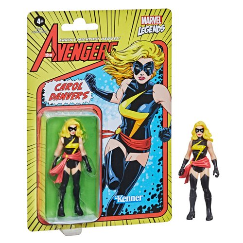 Marvel Legends Retro Carol Danvers Action Figure