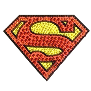 Superman Logo Crystal Studded Small Decal