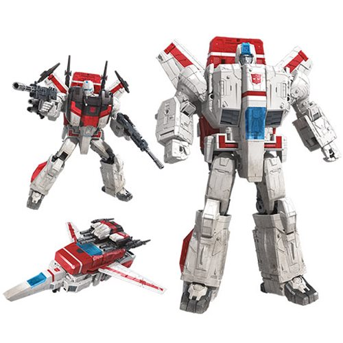 Transformers Generations War for Cybertron: Siege Commander Jetfire