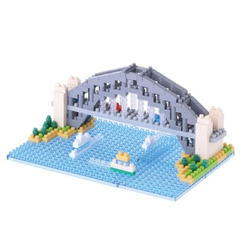Sydney Harbour Bridge Nanoblock Constructible Figure