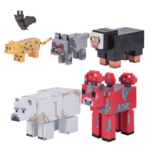 Minecraft Series 3 Wild Animal Pack