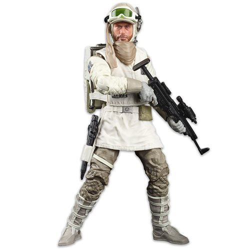 Star Wars The Black Series Empire Strikes Back 40th Anniversary 6-Inch Hoth Rebel Soldier Action Figure