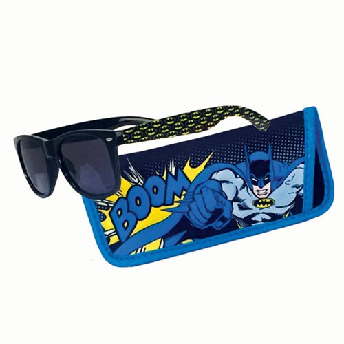 Batman Boom Sunglasses with Carry Case