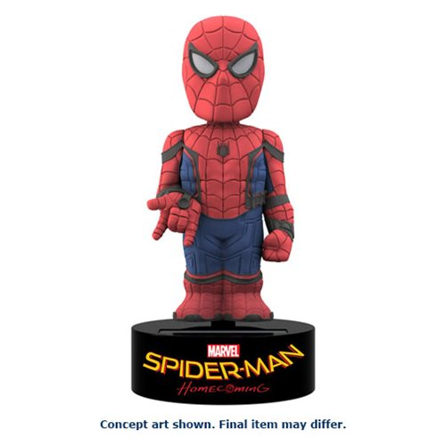 Spider-Man Homecoming Solar-Powered Body Knocker