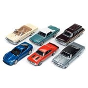 Auto World Premium 1:64 Scale Die-Cast Metal Vehicle Wave 1B Set