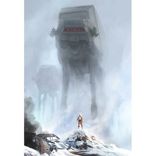 Star Wars Too Strong for Blasters by Jeremy Saliba Lithograph Art Print
