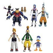Kingdom Hearts Select Series 2 Action Figure Set