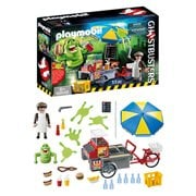 Playmobil 9222 Ghostbusters Slimer with Hot Dog Stand Playset
