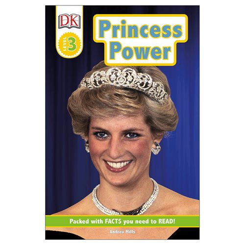 Princess Power DK Readers Level 3 Paperback Book