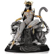Women Dynamite Dejah Thoris Campbell Black-and-White Statue