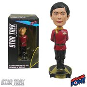 Star Trek Wrath of Khan Commander Sulu Bobble Head, Not Mint