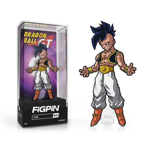 Dragon Ball GT Uub Limited Edition FiGPiN Classic Enamel Pin