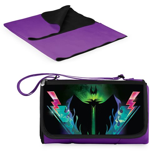 Sleeping Beauty Maleficent Picnic Blanket