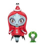Disney The World of Miss Mindy Nightmare Before Christmas Santa Sally Vinyl Figure