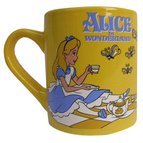 Disney Alice in Wonderland Butterflies 14 oz. Ceramic Mug