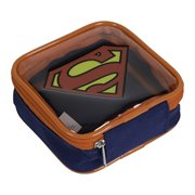 Superman Logo Square Zipper Pouch