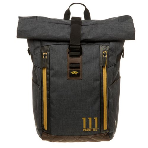 4e34df08713b Fallout Vault-Tec Roll Top Backpack - Entertainment Earth