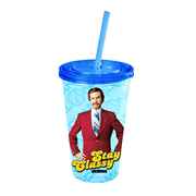 Anchorman The Legend of Ron Burgundy Stay Classy Plastic Travel Cup