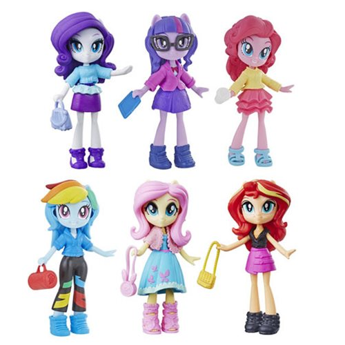 My Little Pony Equestria Girl Fashion Squad Mini Doll Wave 2