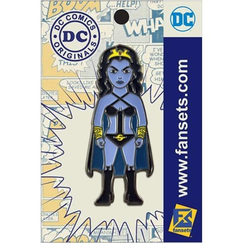 Legion of Super Heroes Shadow Lass Pin