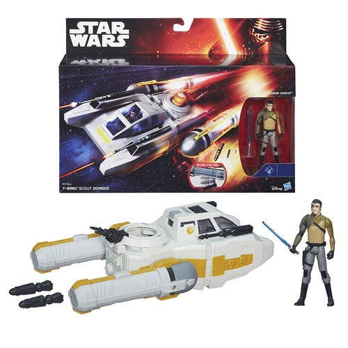 Details about  /Star Wars Rebels Vehicle Y-Wing Scout Bomber by Hasbro