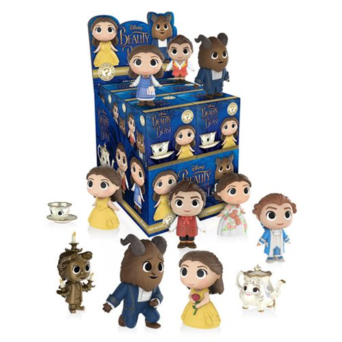 Beauty and the Beast Live Action Mystery Minis Display Case
