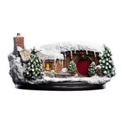 The Hobbit 16 Hill Lane Christmas Edition Hobbit Hole Statue