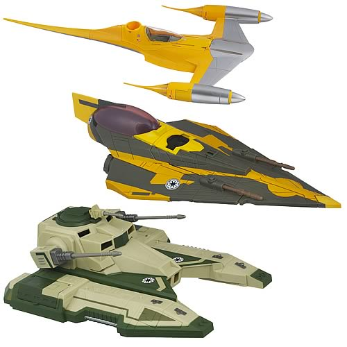 Star Wars and Clone Wars Class II Vehicles Wave 2