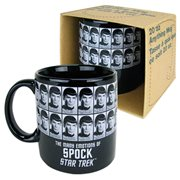 Star Trek Emotions of Spock 20 oz. Mug