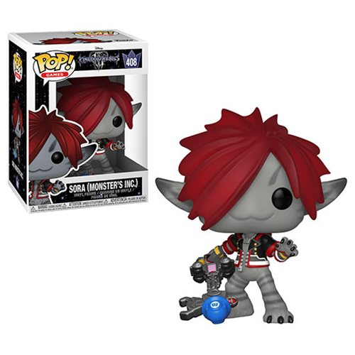 Kingdom Hearts 3 Sora Monster's Inc. Pop! Vinyl Figure #408