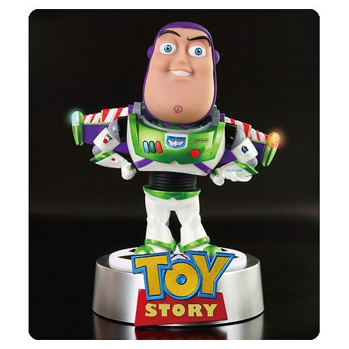 Toy Story Buzz Lightyear Light-Up Egg Attack Statue